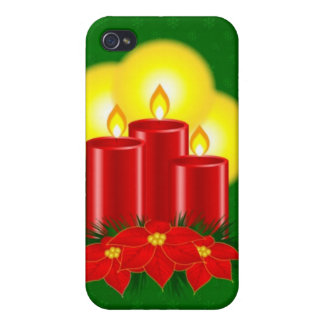 The best Christmas Ever - Candles Cases For iPhone 4