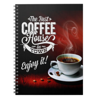 The Best Coffee House in Town Notebooks