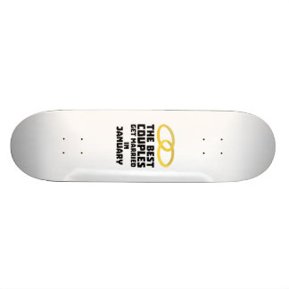 The Best Couples in JANUARY Z00xc 20 Cm Skateboard Deck