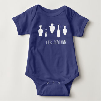 The Best Creation Ever Greek Vases Baby Bodysuit