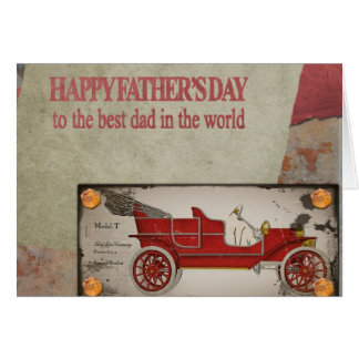 The Best Dad Father's Day Card