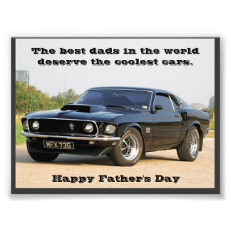 The Best Dads in the World Deserve the Coolest Car Photo