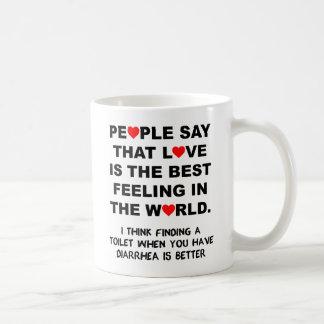 The Best Feeling Funny Mug