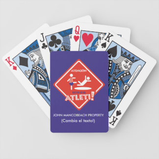 THE BEST GAME OF THE ATLETI BICYCLE PLAYING CARDS