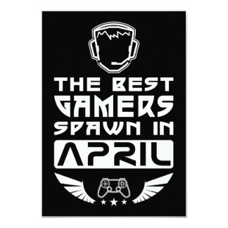 The Best Gamers Spawn in April Card