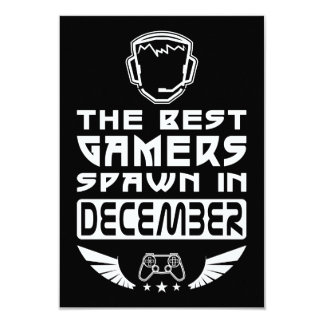 The Best Gamers Spawn in December Card