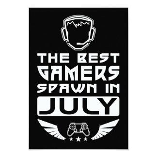The Best Gamers Spawn in July Card
