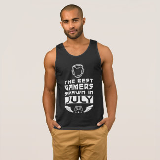 The Best Gamers Spawn in July Singlet