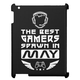 The Best Gamers Spawn in May iPad Case