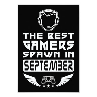The Best Gamers Spawn in September Card