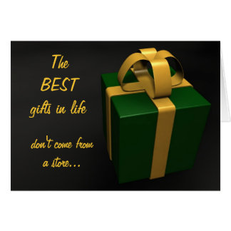 The Best Gifts Card