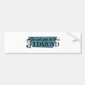 The best guys are from Edmond Bumper Sticker