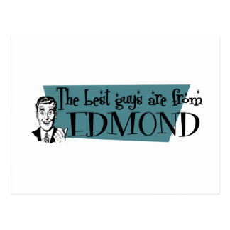 The best guys are from Edmond Postcard