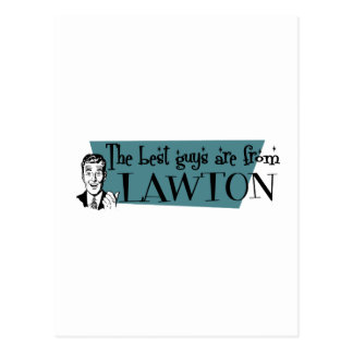 The best guys are from Lawton Postcard