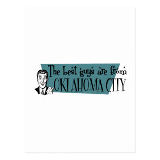 The best guys are from Oklahoma City Postcard