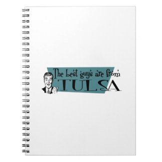 The best guys are from Tulsa Spiral Notebooks
