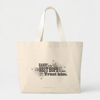 The best hope we have jumbo tote bag