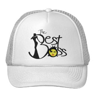 The Best lady boss Trucker Hats