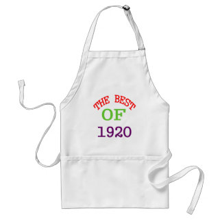 The Best OF 1920 Standard Apron