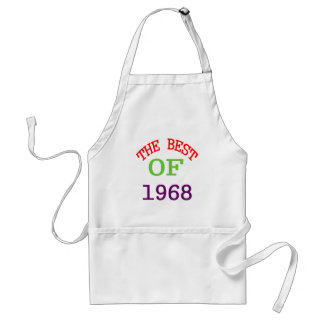 The Best OF 1968 Standard Apron