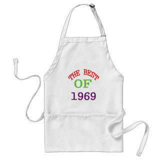 The Best OF 1969 Standard Apron