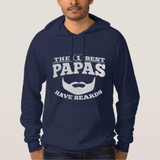 The Best Papas Have Beards Hoodie