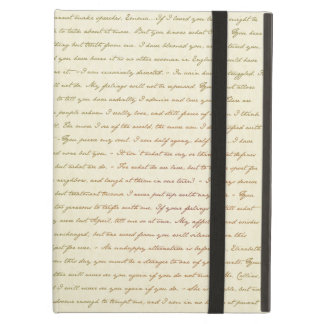 The Best Quotes from Jane Austen iPad Air Cases