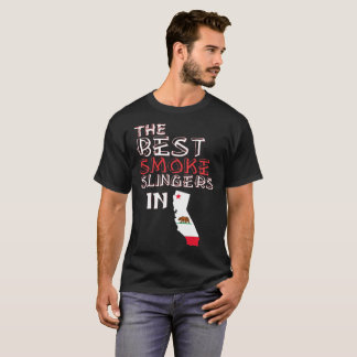 The Best Smoke Slingers In California Barbecue T-Shirt
