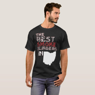 The Best Smoke Slingers In Ohio Barbecue T-Shirt