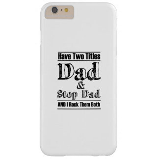 The Best step Father  step dad Barely There iPhone 6 Plus Case