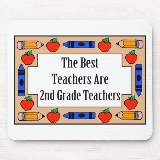 The Best Teachers Are 2nd Grade Teachers Mousepad