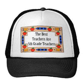 The Best Teachers Are 5th Grade Teachers Mesh Hats