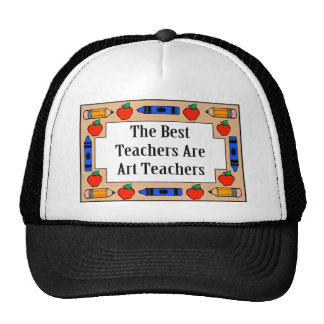 The Best Teachers Are Art Teachers Mesh Hat