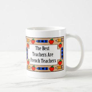 The Best Teachers Are French Teachers Basic White Mug
