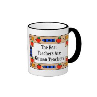 The Best Teachers Are German Teachers Coffee Mugs