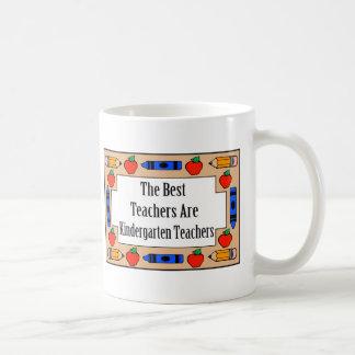 The Best Teachers Are Kindergarten Teachers Mug