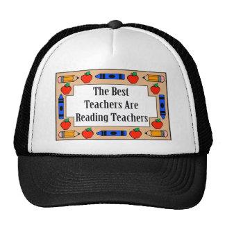The Best Teachers Are Reading Teachers Mesh Hats