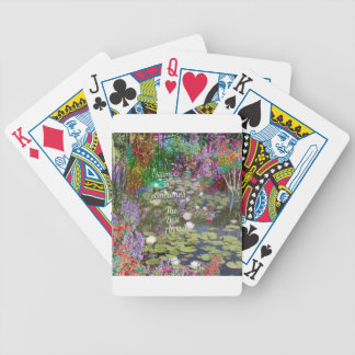 The best way to act bicycle playing cards