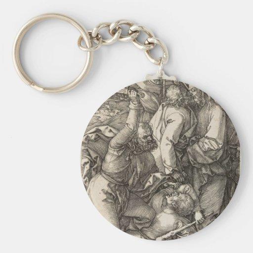 The Betrayal of Christ circa 1508 Key Chain