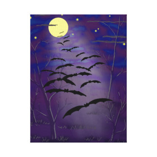 The Bewitching Hour Stretched Canvas Print