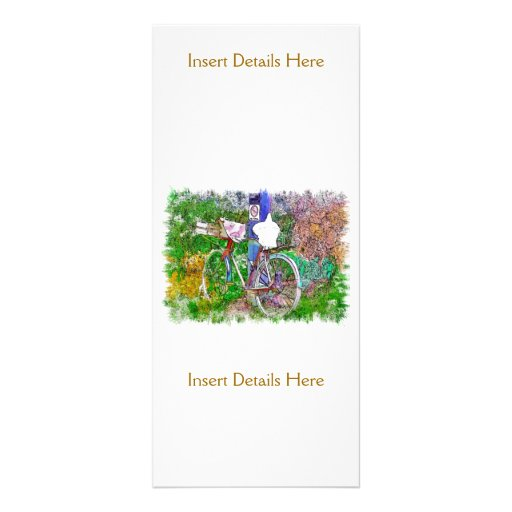 THE BICYCLE FULL COLOR RACK CARD