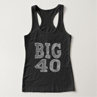 The BIG 40 Fortieth Birthday Singlet