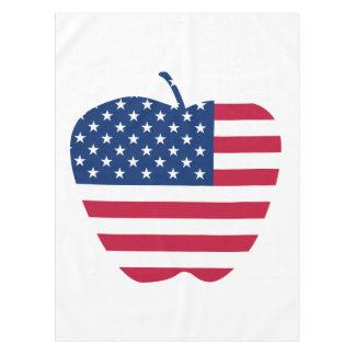The Big Apple America flag NYC Tablecloth