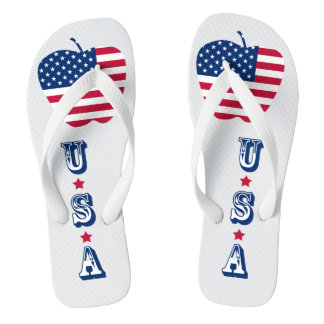 The Big Apple America flag NYC Thongs