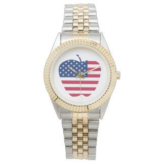 The Big Apple America flag NYC Watch