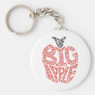 THE BIG APPLE KEY RING