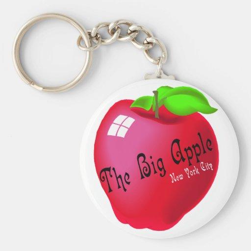 The Big Apple Key Chains