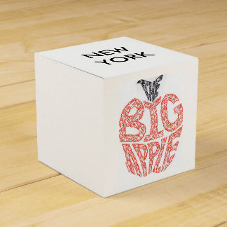 THE BIG APPLE - MINIFACES FAVOUR BOX