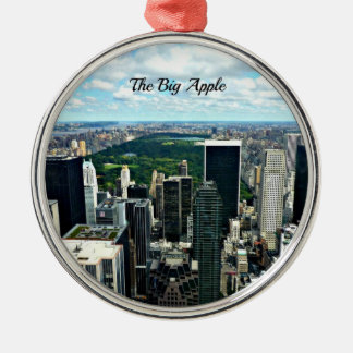 The Big Apple, New York City Metal Ornament