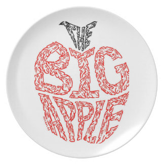 THE BIG APPLE - NEW YORK PLATE